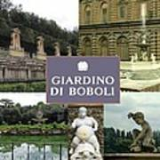 Giardino Di Boboli Poster