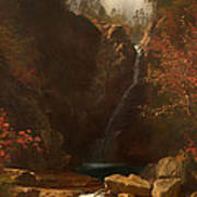 Glen Ellis Falls Poster