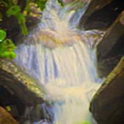 Glen Iris Waterfall Poster