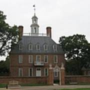 Governers Palace Colonial Williamsburg Poster