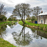 Grand Canal At Miltown Poster