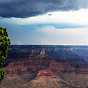 Grand Canyon Storm Poster