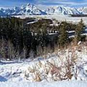 Grand Teton Landscape Poster