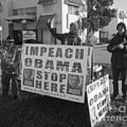 Grassroots Impeach Obama Movement Poster