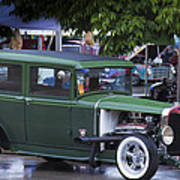 Green Limo Poster