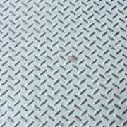 Grey Iron Industrial Floor As Background Poster