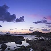 Guernsey Sunset Poster