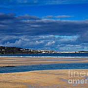Hayle Estuary Cornwall Poster