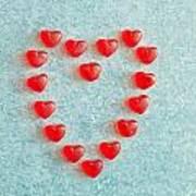Heart Shape Poster by Tom Gowanlock