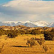 High Desert Plains Landscape Poster