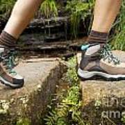 Hiking Boots Poster