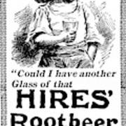 Hires' Root Beer Ad, 1895 Poster