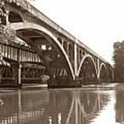 Historic Wil-cox Bridge Poster