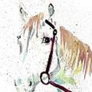 Horse Study Poster