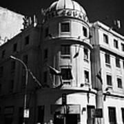 hotel espana Santiago Chile Poster