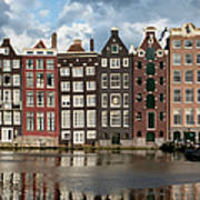 Houses In Amsterdam Poster