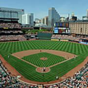Houston Astros V Baltimore Orioles Poster