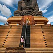Huay Mongkol Temple Poster