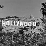 Iconic Hollywood Sign Poster