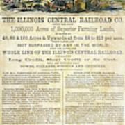 Illinois Railroad Company Poster