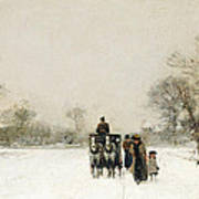 In The Snow Poster