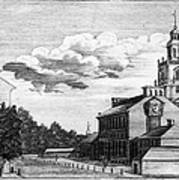 Independence Hall, 1778 Poster