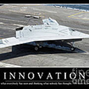 Innovation Inspirational Quote Poster