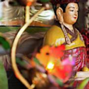 Interiors Of Vihn Trang Pagoda, My Tho Poster