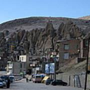 Iran Kandovan Stone Village Poster