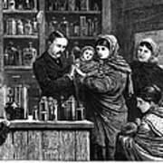 Ireland: Vaccination, 1880 Poster