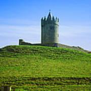 Irish Castle On Hill Poster