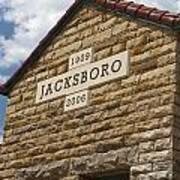 Jacksboro Texas Poster