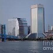 Jacksonville Skyline Poster