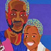 James And Monique Poster