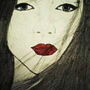 Japanese Geisha Poster