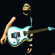 Joe Satriani Painting Poster
