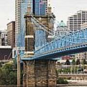 John Roebling Bridge 1867 Poster