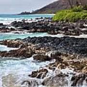 Keanae Lava Rock Poster