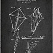 Kite Patent From 1892 Poster