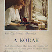 Kodak Advertisement, 1914 Poster