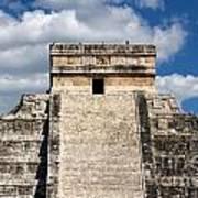 Kukulkan Pyramid At Chichen Itza Poster