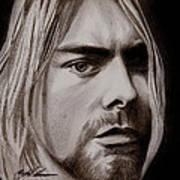 Kurt Cobain Poster by Michael Mestas