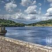 Ladybower Dam Poster