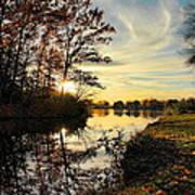Lake Wausau Sunset Poster