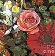 Lancaster Flowers Poster