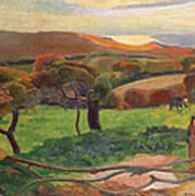 Landscape From Bretagne Poster