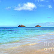 Lanikai Beach Oahu Hawaii Poster by Kelly Wade