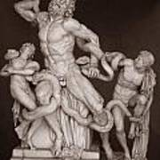 Laocoon And His Sons Poster