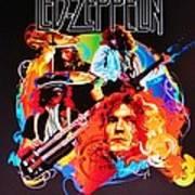 Led Zeppelin Art Poster