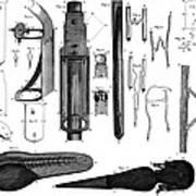 Leeuwenhoek: Microscope Poster